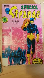 """French Marvel """"Strange"""" comic books 1983 &1984"""