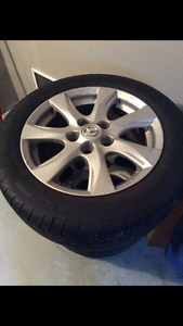 205 55 16 Pirelli Tires + 4 Mazda Rims