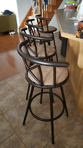 4 Bar Stools Kitchener / Waterloo Kitchener Area image 1