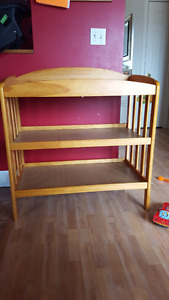 Wooden Baby Change Table