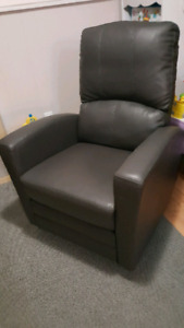 Dark Grey Kendall Swivel Glider Recliner