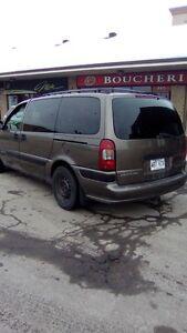 2004 Chevrolet Venture Minivan, Van QUEBEC PLATED 1000$