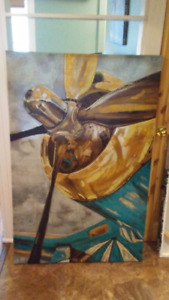 Propeller painting