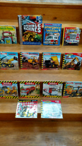"14 Tonka and ""Mighty Machines"" children's picture books"