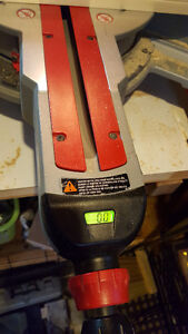 """Bosch 10""""Tablesaw with stand; Milwaukee 12""""Mitresaw with stand Edmonton Edmonton Area image 4"""