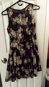 Size 10/12 Lacey Stretchy Dress - worn once