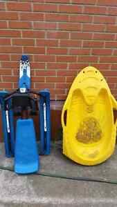 Two snow sleds for sale $15 and $25