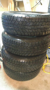 New Winter Tires 215/70R15 with Rims