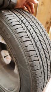 Summer tyres qty 4 for sale.Bridgestone size 215/50R17 91V