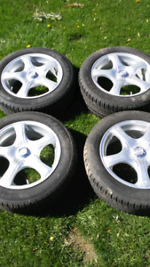 Tires and rims for sale 205/55R16