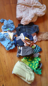 Huge Lot of Baby Boy's Clothes