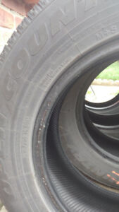 Four Used P215/70R16 99H Toyo WinterTires