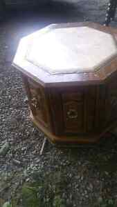 Octagonal End Table or Bedside table