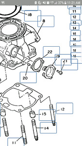 Long shot but ISO parts for 1993 yz 250