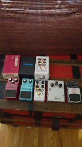 Pedals For Sale (See list below)