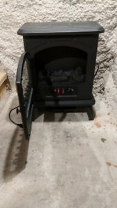 Wood Stove Electric Space Heater