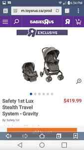 Lux Stroller Car Seat Combo $474.59 After Tax Toys R Us $200!