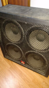 Stereo 4x12 cabinet