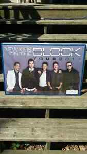New Kids On The Block Framed Posters London Ontario image 5