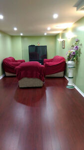Beautiful Fully Finished Basement Apartment For Rent in Ajax!
