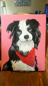 Pet Portraits on Canvas