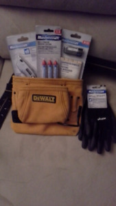 Tool belt and extras