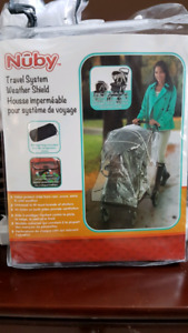 Nuby Stroller cover / Travel system weather shield