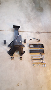 Jeep JK Tailgate Hinge & Tire Carrier Assembly