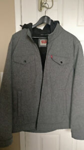 *Brand New* Levi's Hooded Trucker Jacket