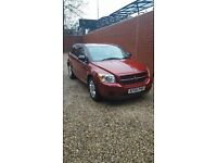 dodge caliber 2.0crd ,2008 low milage 42000 mot 5 monts new discs pads and tyres
