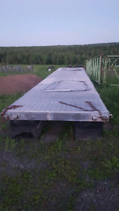 Galvanized dock 41ft x 7 ft with floats