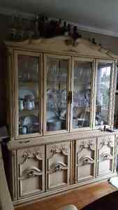 Hutch and cabinets