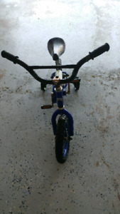 Boy's 12 inch bicycle with training wheels