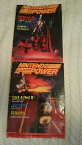 Nintendo Power Volume 2 and 3 - sept/oct and nov/dec Issues