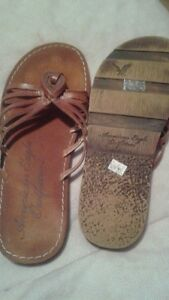AE sandals size 8 NEW