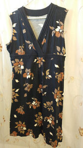 For Sale: Black & floral Croft&Barrow long dress