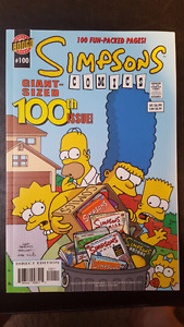 Simpsons 100th issue giant issue comic