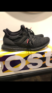 Adidas Ultraboost triple black men's size 9.5