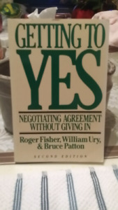 Getting to Yes by Bruce Patton ( S E )