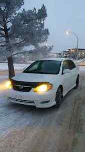 Toyota Corolla S 2006 with extra set of rims and new tires