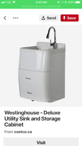 Wanted: Westinghouse Delux Laundry sink