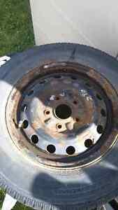Rims et pneu 14pouces 5x114