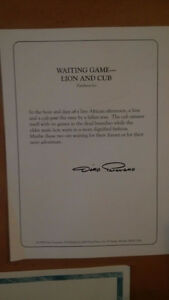 "Limited Edition Dino Paravano ""The Waiting Game"" Cambridge Kitchener Area image 7"