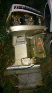Used Evinrude 115hp outboard , complete asking $250. O.b.o.