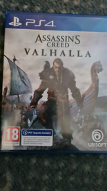 PS4 game assassins creed valhalla