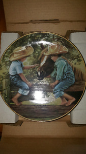 Country Friends collector plate