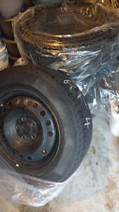 "Four 17"" Winter Rims and Sensors - 235/65/R17"