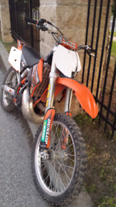 2003 KTM 250SX with ownership .
