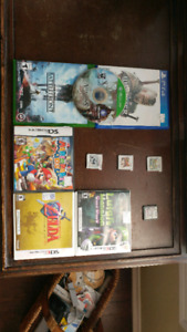 Various games 3ds. Ds xbox ps4