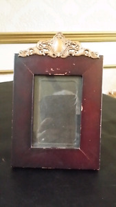 Picture frame made to look antique